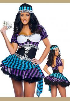 Colorful Gypsy Girl Costume