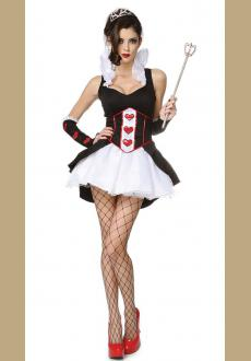 Cruel Queen Of Hearts Costume