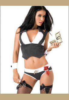 Cash Lover Gangster Costume