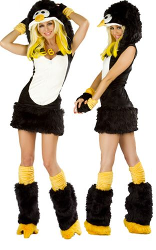 Cute Penguin Costume...