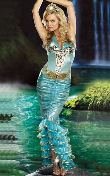 Sea Queen Costume