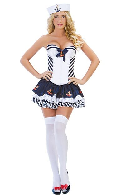 Adult Stripe Sailor ...