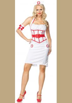 SEXY ON CALL NURSE FEMALE ADULT COSTUME