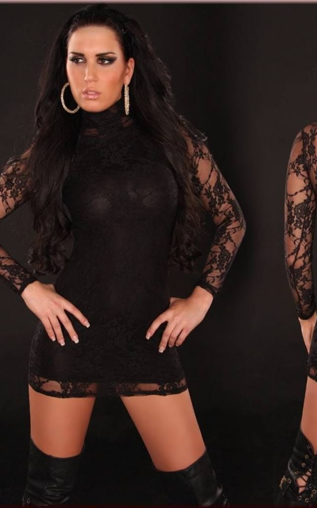 Sexy Lace-Minidress ...