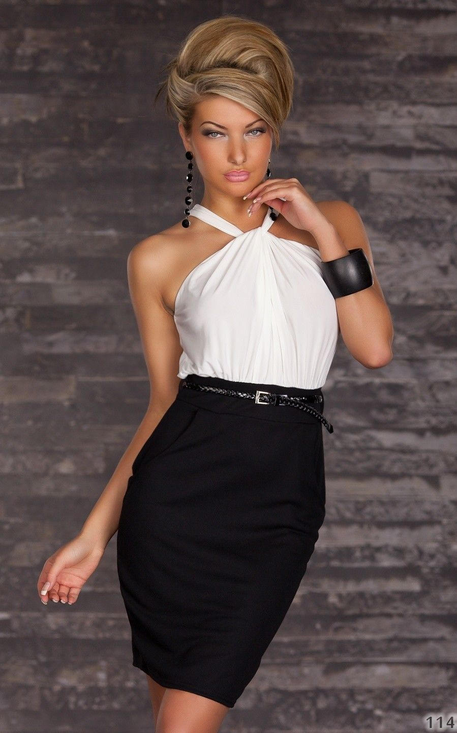 Fashion Halter Dress