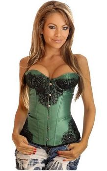 Green Floral Lace St...