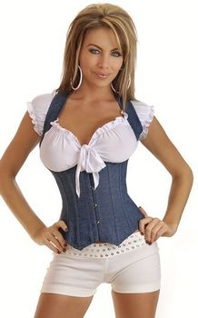 Denim Under bust Ste...