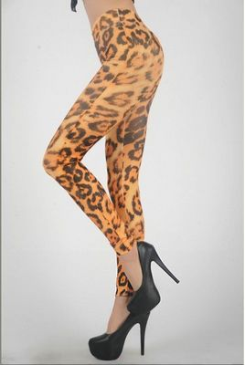 Huge Leopard Legging