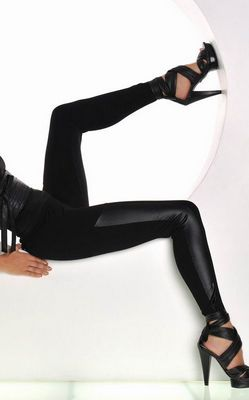 Sexy Black tight Leg...