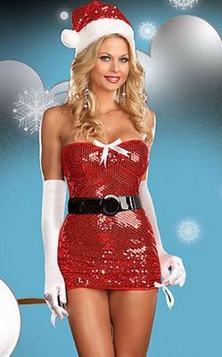 Red Sequin Christmas...