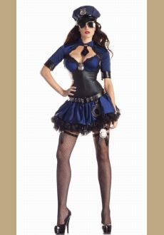 Deluxe Shaper Sultry Officer Costume