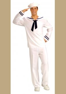 Forum Novelties Men's Anchors Aweigh Sailor Costume