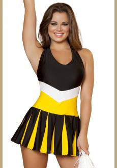 HALFTIME HOTTIE CHEERLEADER COSTUME