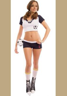 Sexy Halloween Soccer Costume