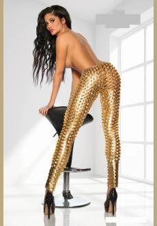 Leggings of the stars of SARESIA in gold