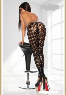 Leggings of the stars of SARESIA in black