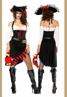 Sexy Saucy Wench Pirate Costume