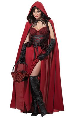 Dark Red Riding Hood...