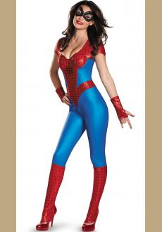 Amazing Spider Girl Bustier Womens Costume