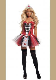 Feisty Queen of Hearts Costum