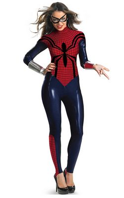 SPIDER GIRL BODYSUIT...