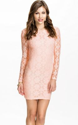 Floral Lace Bodycon ...
