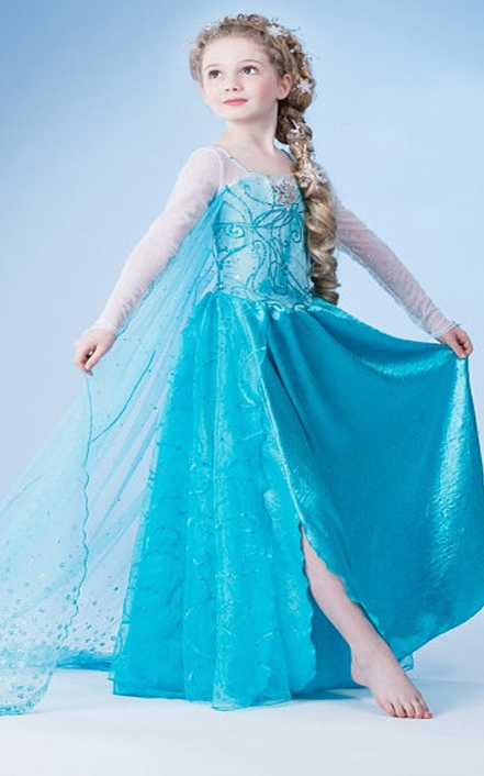 Frozen dress princes...