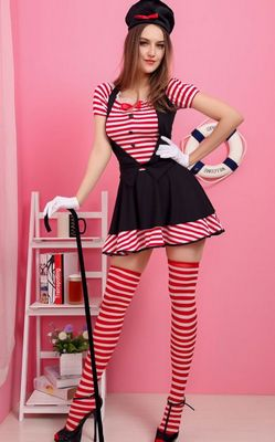 Candy Striped Mime C...