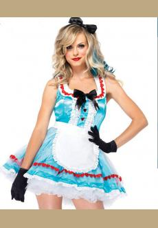 ALICE IN WONDERLAND COSTUME WITH GLOVES