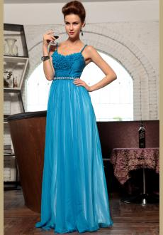 2015 spring new Spaghetti Strap evening party dress
