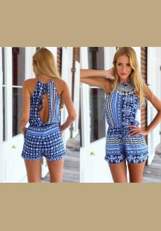 STELLA PLAYSUIT (BLUE)