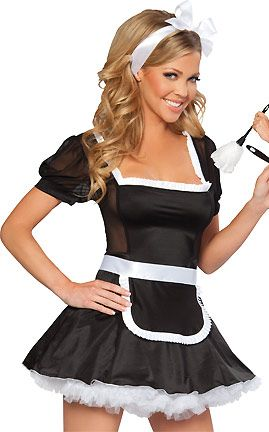 Midnight French Maid...