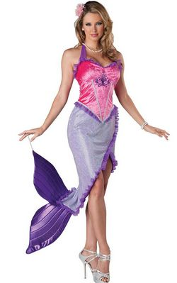Mermaid Princess Cos...