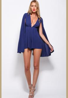 Nomad Playsuit Navy