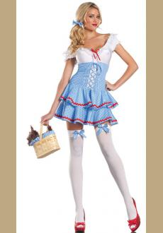 Sweet Dorothy Adult Womens Wizard of Oz Costume