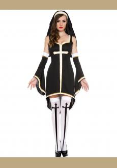 Women's Sinfully Hot Nun Costume