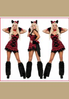 Womens Fox Furry Costume