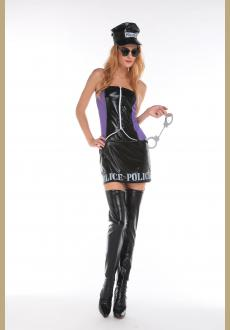 Sultry Naughty Officer Costume