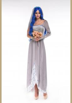 3pc Dead Bride Costume