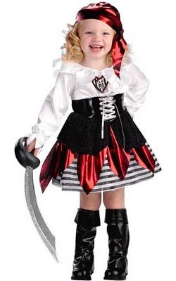 Girls Petite Pirate ...