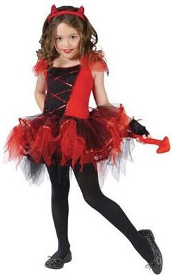 Girls Devil Tutu Dan...