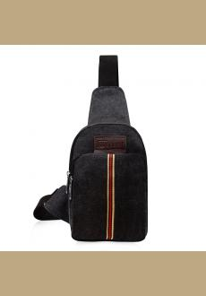 canvas shoulder bag casual chest bag