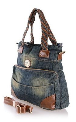 denim cloth  handbag...