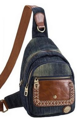 Cowboy canvas bag