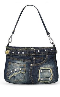 lady denim handbag