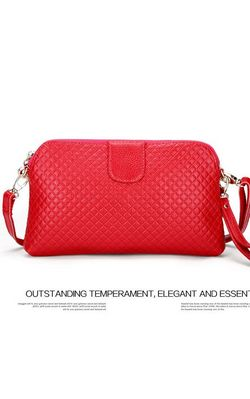 women Clutch leather...