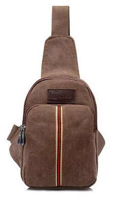 canvas shoulder bag ...