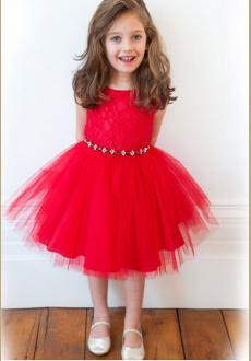 Fabulous red princess dress