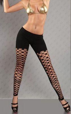 Sexy leggings neri p...