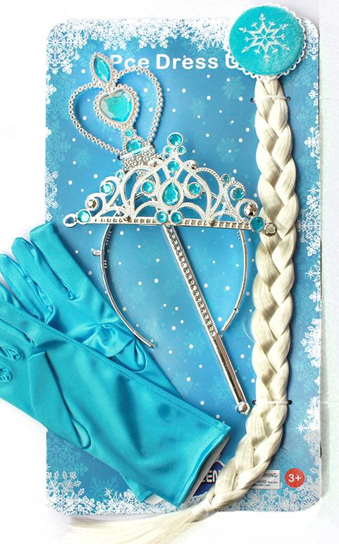 4Pcs  Elsa Princess ...